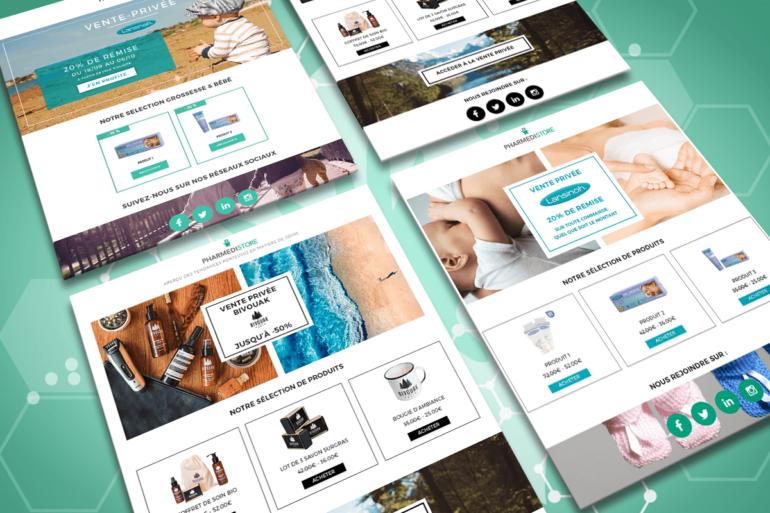 Kit emailing | Pharmedistore