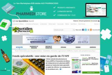 Habillage de site | Pharmedistore
