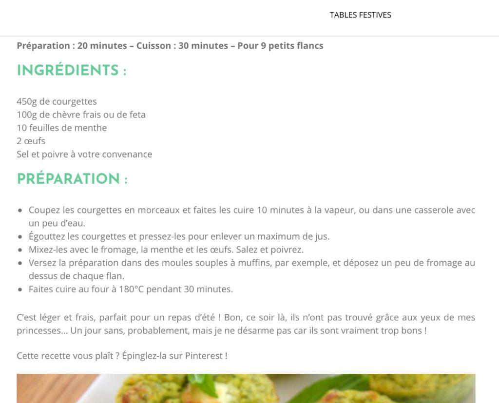 miam collection details recette ingredients 1024x827 - Miam Collection : Le blog culinaire de l'alimentation équilibrée